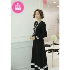 Lemite - Brushed-Fleece Pullover Dress