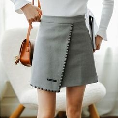 Woodie - A-line Knit Skirt