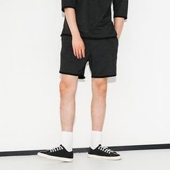 SCOU - Drawstring-Waist Sweat Shorts