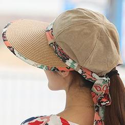 卿本佳人 - 圍巾領帶太陽帽