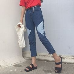 Tiny Times - Cropped Slim Fit Jeans