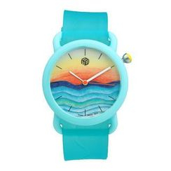Moment Watches - BE COLOURFUL Time to Splash Strap Watch