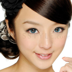 GEO - Magic Color Lens WT-B72 (Xtra 3 Tone Blue) [P-0.00 ONLY]