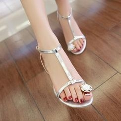 ZIMA - Toe Loop T-Strap Sandals