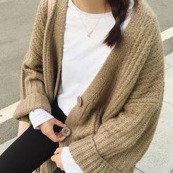 Dasim - 长款粗织开衫
