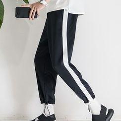 Streetstar - Panel Wide Leg Pants