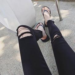 MATO - Ripped Skinny Pants