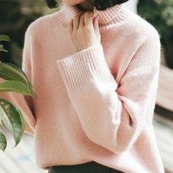 Cloud Nine - Mock Neck Sweater