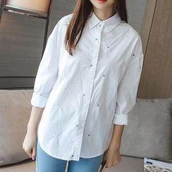 微米家 - 刺繡襯衫