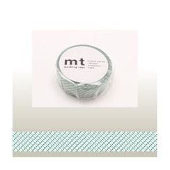 mt - mt Masking Tape : mt 1P Broken Line (Green)
