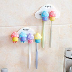 Home Simply - Mushroom Toothbrush Holder