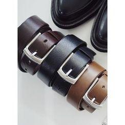 JOGUNSHOP - Square-Buckled Belt