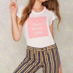 Obel - Printed Short Sleeve T-Shirt