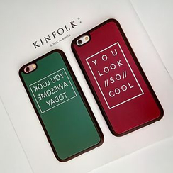Casei Colour - Lettering Mobile Case - iPhone 6 / 6 Plus