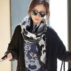 Jcstyle - Printed Long Scarf