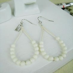 MyLittleThing - Fresh Bead Earrings(White)