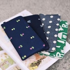 SUPER LOVER - Patterned Long Wallet
