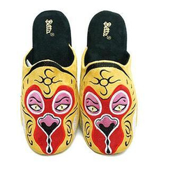 Betta - Men Chinese Opera Mask Slippers