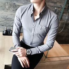 Maluda - Long-Sleeve Striped Shirt