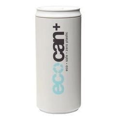 Eco Concepts - Eco Can Plus White with Blue Print (450ml)