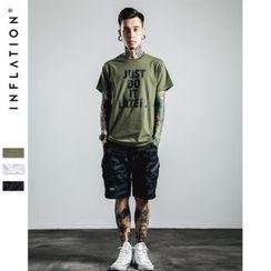 Newin - Letter Short-Sleeve T-shirt