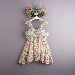 Kidora - 小童碎花吊带裙