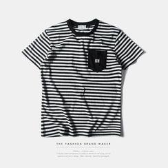 Newin - Stripe Short-Sleeve T-shirt