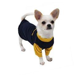 LIFE STORY - Pet Dog Color-Block T-Shirt Costume