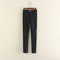 Mushi - Plain Skinny Pants