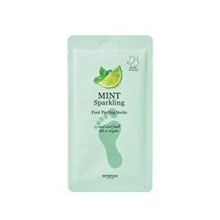 Skinfood - Mint Sparkling Foot Peeling Socks 20g x 2pcs