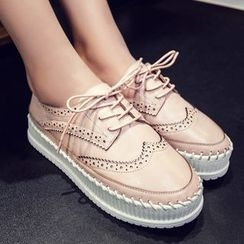 JY Shoes - Platform Oxfords