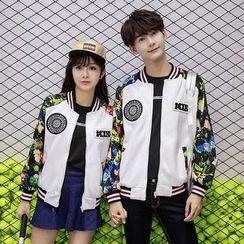 Azure - Couple Matching Floral Jacket