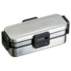 Skater - 4 Lock Stainless 2 Layer Lunch Box