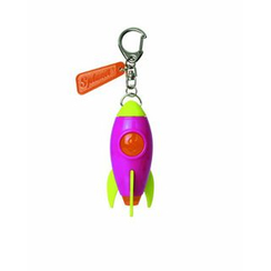 DREAMS - Projector Rocket Keychain (Pink)