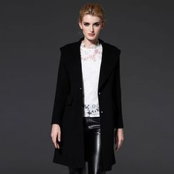 Seagrass - Wool Blend Coat