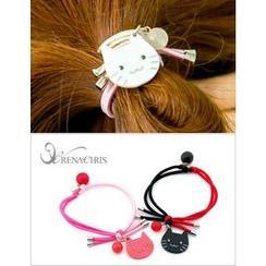 soo n soo - Cat-Charm Color-Block Hair Tie
