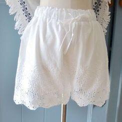 HANIA - Lace Shorts