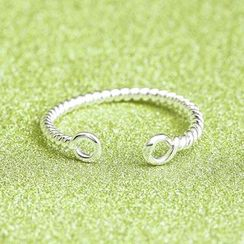 Zundiao - Twisted Adjustable Ring