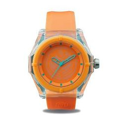 Moment Watches - Coffee Lover - SPICY (Orange) Strap Watch