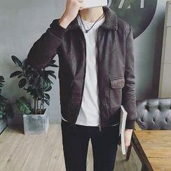 Edouard - Faux Leather Jacket