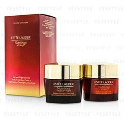 Estee Lauder 雅詩蘭黛 - Nutritious Vitality8 Day and Night Radiance: Moisture Creme 50ml + Overnight Creme/Mask 50ml