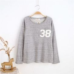 Janseed - Long-Sleeve Numbering T-Shirt