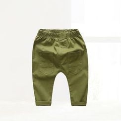 ciciibear - Kids Applique Pants