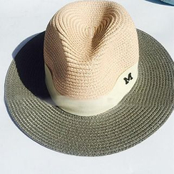 Hats 'n' Tales - Color Block Straw Hat