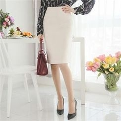 ode' - Slit-Back Pencil Skirt