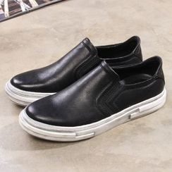 Armsal - Faux-Leather Slip-Ons