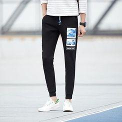 Danjieshi - Printed Sweatpants