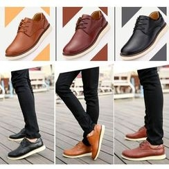 Easy Steps - Genuine Leather Oxford Shoes