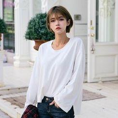 Vintage Vender - Round-Neck Long-Sleeve T-Shirt