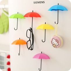 Fun House - Set of 3: Self Adhesive Umbrella Wall Hook